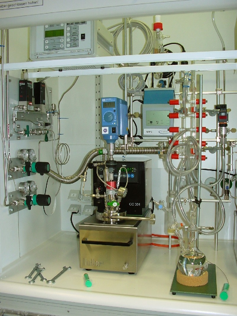 Equipment  used in hydrofomylation reactions